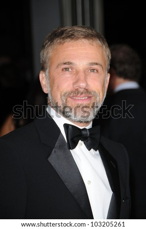 Christoph Waltz  at the 2009 Governors Awards presented by the Academy of Motion Picture Arts and Sciences, Grand Ballroom at Hollywood and Highland Center, Hollywood, CA. 11-14-09