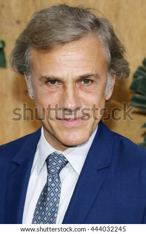 Christoph Waltz at the Los Angeles premiere of 'The Legend Of Tarzan' held at the Dolby Theatre in Hollywood, USA on June 27, 2016. - stock photo