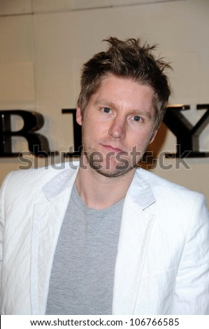 Christopher Bailey  at the Burberry Beverly Hills Store Re-Opening. Burberry Beverly Hills Store, Beverly Hills, CA. 10-20-08 - stock photo
