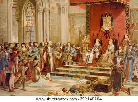Ferdinand and Isabella's Edict Against Jews
