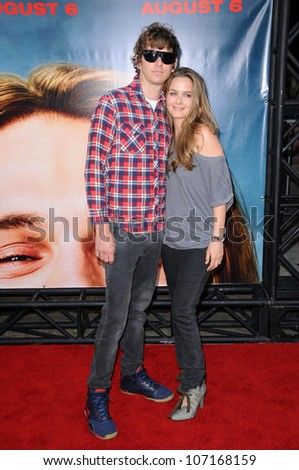"Christopher Jarecki and Alicia Silverstone  at the Los Angeles Premiere of ""Pineapple Express"". Mann Village Theater, Westwood, CA. 07-31-08"