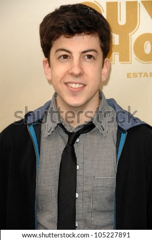 Christopher Mintz-Plasse at 3rd Annual Spike TV's 'Guys Choice'. Sony Studios, Culver City, CA. 05-30-09
