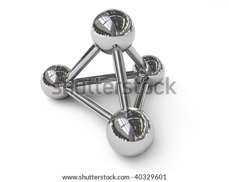 Chrome connection symbol - stock photo