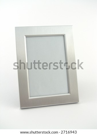 chrome frame - stock photo