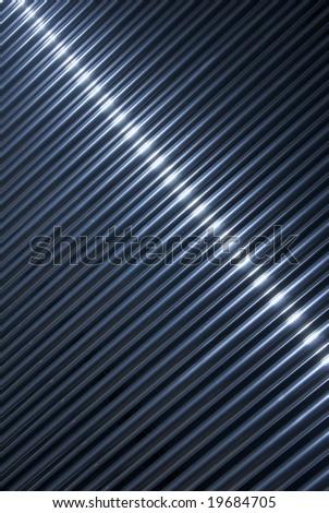 chrome tube backgroundmetallic tubes background - stock photo