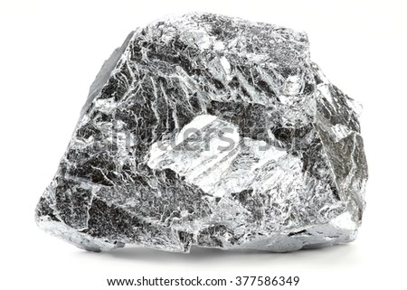chromium isolated on white background