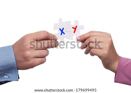 Chromosome concept - stock photo