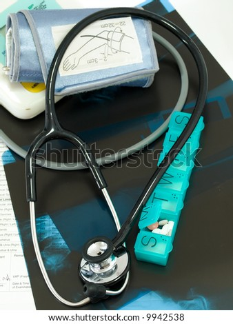 Chronic Medical Care - stock photo