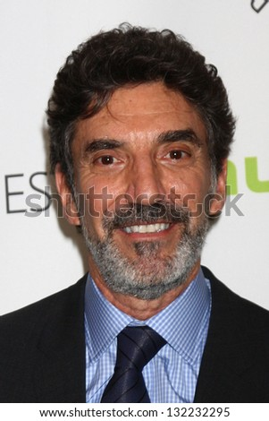 """Chuck Lorre at """"The Big Bang Theory"""" at PaleyFest 2013, Saban Theatre, Beverly Hills. CA 03-13-13 - stock photo"""