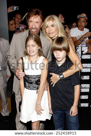 "Chuck Norris at the Los Angeles premiere of ""The Expendables 2"" held at the Grauman's Chinese Theatre in Los Angeles, United States, 150812."