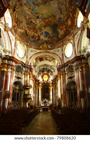 Church Altenburg - stock photo