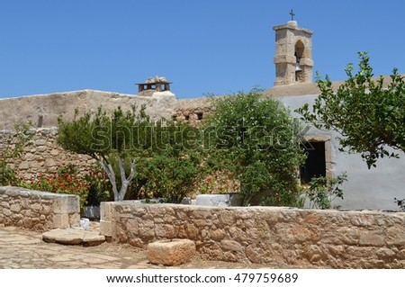 Church at Ancient Aptera