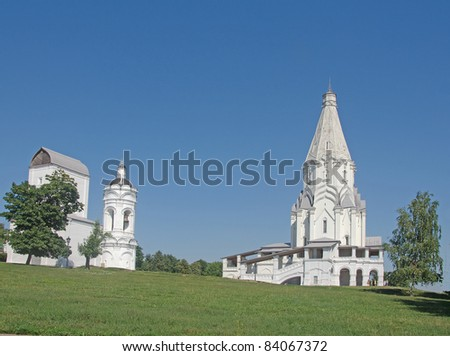Church at Kolomenskoe, Russia