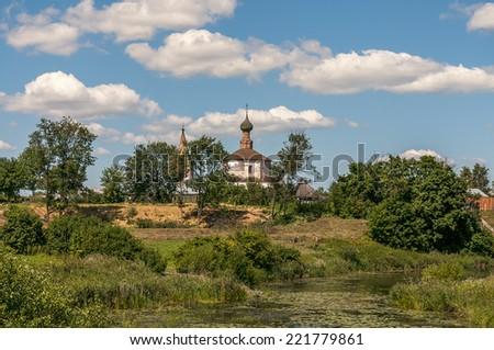 Church at Russia, Suzdal - stock photo