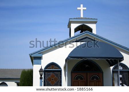 church building - stock photo