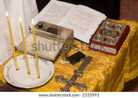 Church ceremony - stock photo