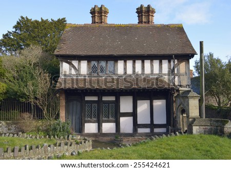 Church Cottage, in the grounds  of St George Priory Church, Dunster