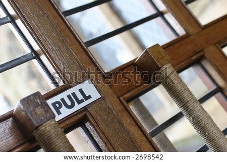 Church Doors - stock photo