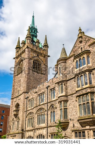 Church House (Presbyterian Church in Ireland) - Belfast - stock photo
