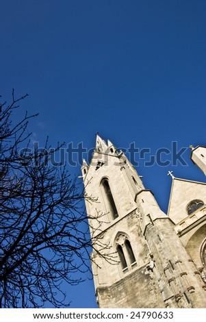Church in aix en Provence - stock photo