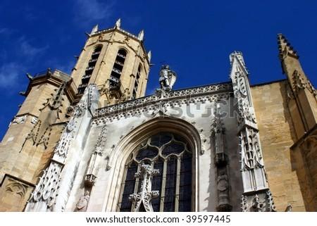 Church in aix en Provence, France - stock photo