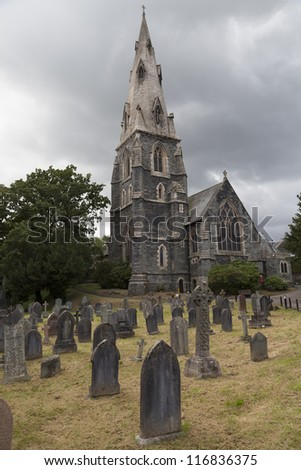 Church in Amblesid, England