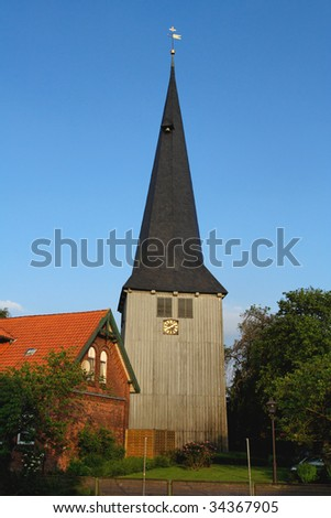 "Church in ""Jork"" ( ""Nord"" Germany )"