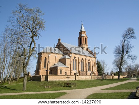 Church in KErnave / Lithuanaia