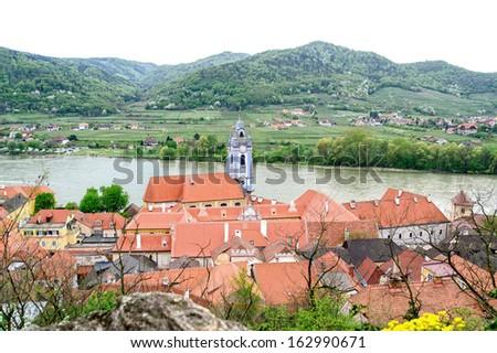 Church of Duernstein - stock photo