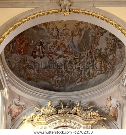 church of florence - stock photo