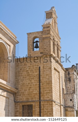 Church of Immacolata. Mesagne. Puglia. Italy.