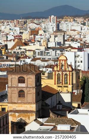 Church of monastery of Saint Augustine. Malaga, Spain  - stock photo