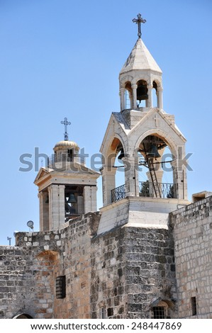 Church of Nativity, Betlehem, Palestine - stock photo