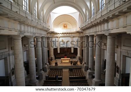 Church of Notre-Dame Saint Vincent, Lyon, France - stock photo