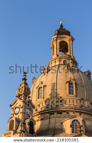 Church of our Lady Dresden (Frauenkirche)