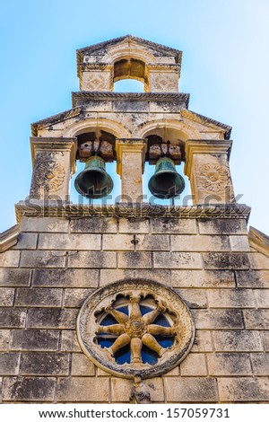 Church of Our Lady in Dubrovnik (Croatia), city on the Adriatic Sea, UNESCO World Heritage Site since 1979 - stock photo