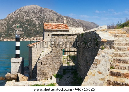 Church of Our Lady of Angels. Bay of Kotor, Montenegro