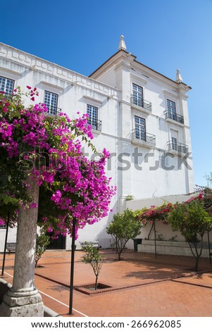 Church of Saint Vicente of Fora,Lisbon,Portugal - stock photo