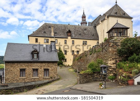 Church of San Cristobal in beilstein germany.