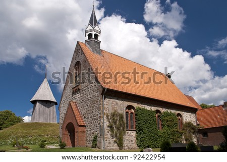 Church of Schwabstedt, Germany