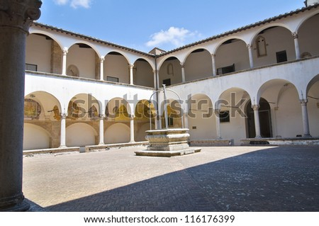 Church of St. Francesco. Amelia. Umbria. Italy. - stock photo