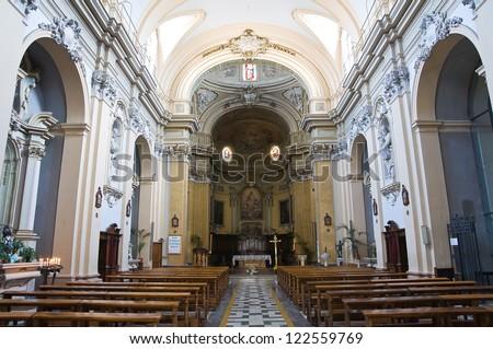 Church of St. Francesco. Amelia. Umbria. Italy. - stock photo