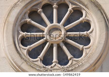 Church of St. Francesco. Manfredonia. Puglia. Italy. - stock photo
