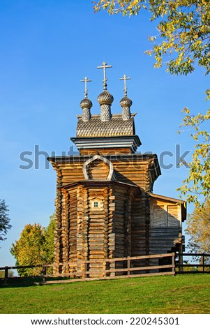 Church of St. George in Kolomenskoye, Moscow, Russia - stock photo