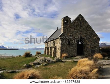 Church of the Good Shepherd - stock photo