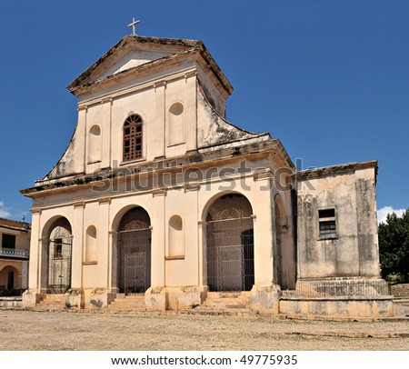 Church of the Holy Trinity, Trinidad, Cuba