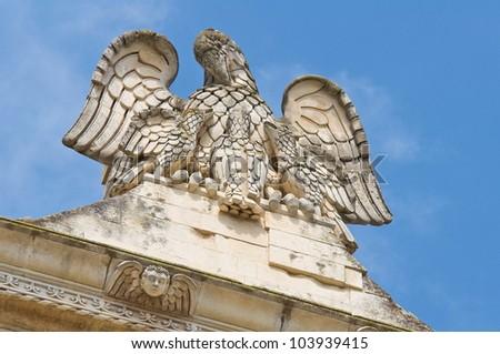 Church of the Jesus. Lecce. Puglia. Italy. - stock photo