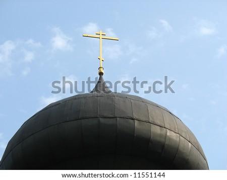 Church of the Savior at Natalievka (Ukraine) - stock photo