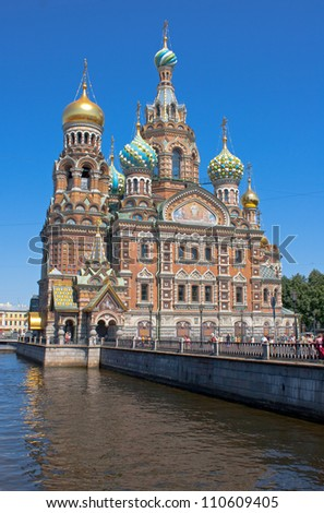 Church of the Savior on Blood, Saint Petersburg