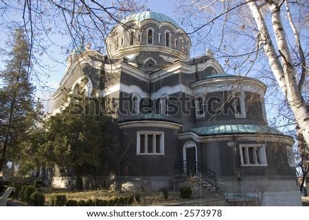"Church ""St. Mina"" at Kyustendil, Bulgaria - stock photo"